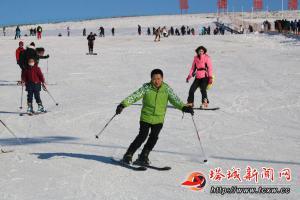 冬季到额敏滑雪