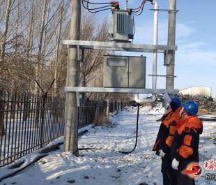 供电安全用电检查  助力企业复工复产